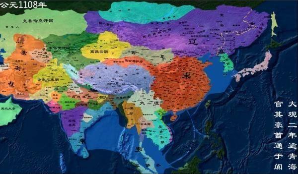"""中国古代各朝疆域有多大,唐朝被称为巨唐,宋朝被称为"""""""