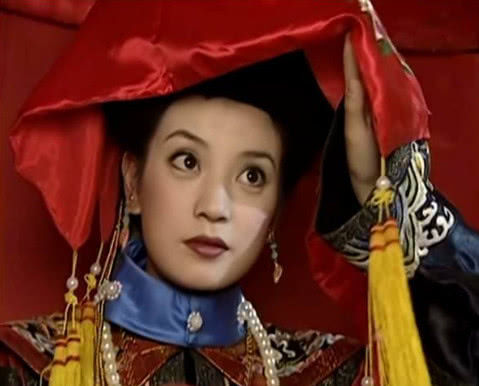 《还珠格格》中有5位新娘,小燕子第二,紫薇第三,想不到她是最美!毫州斗鸡图片
