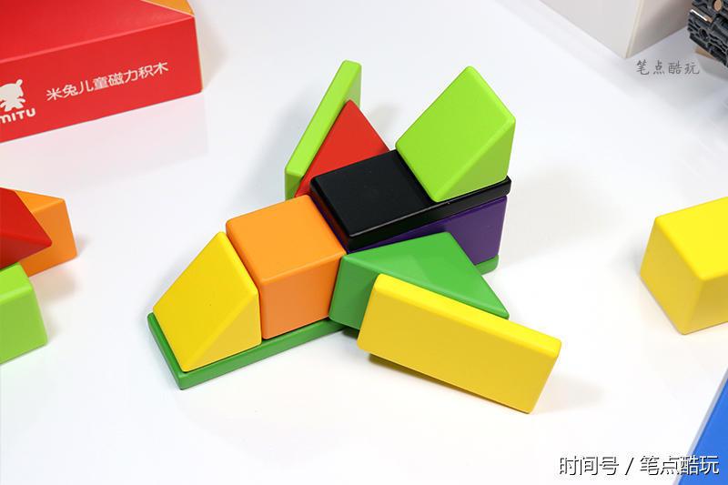 小米最新积木体验玩具,米兔玩具磁力儿童上手启蒙澄海融凯磁力图片