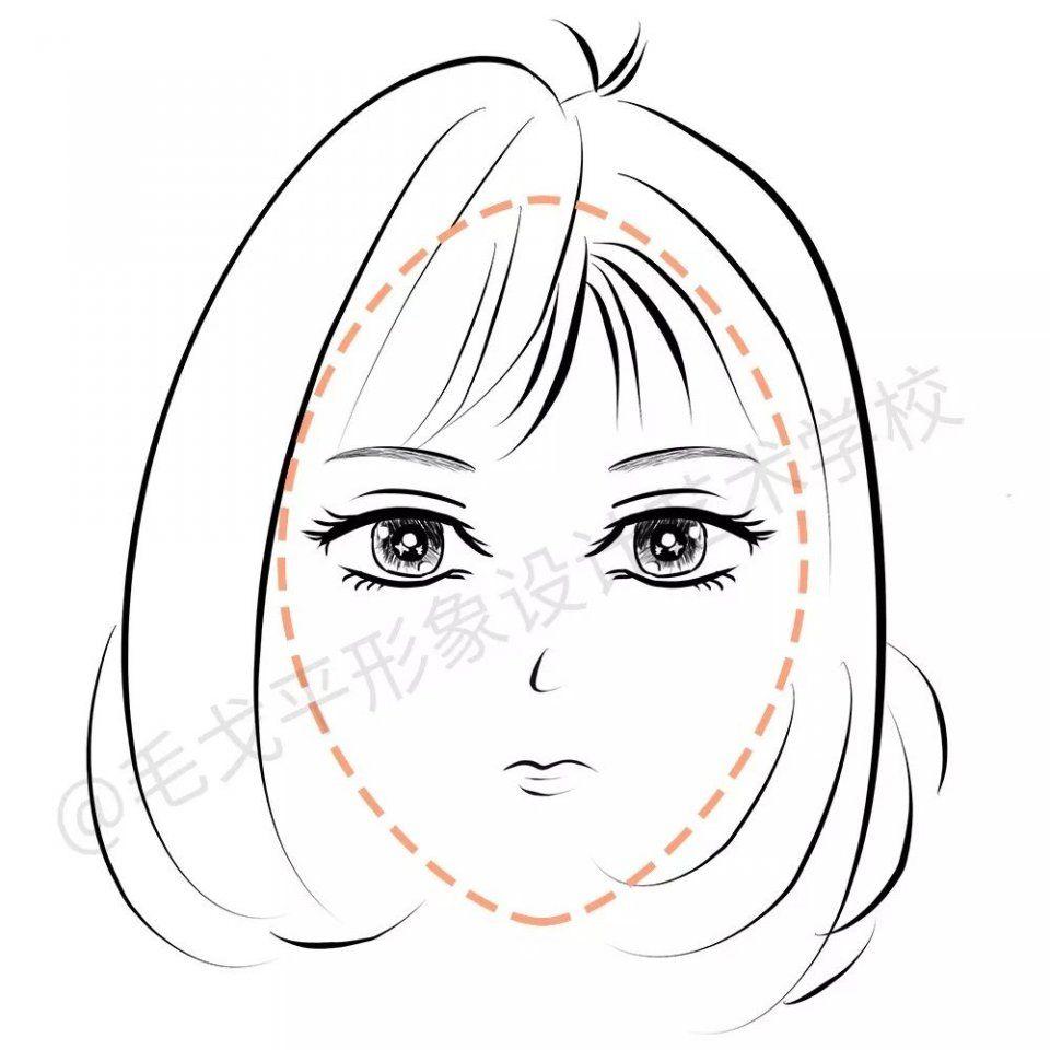 动漫 简笔画 卡通 漫画 手绘 头像 线稿 960_960