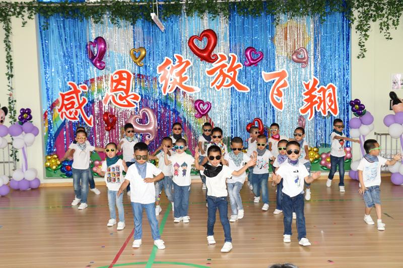 海拉尔区新海幼儿园举行大班毕业系列活动