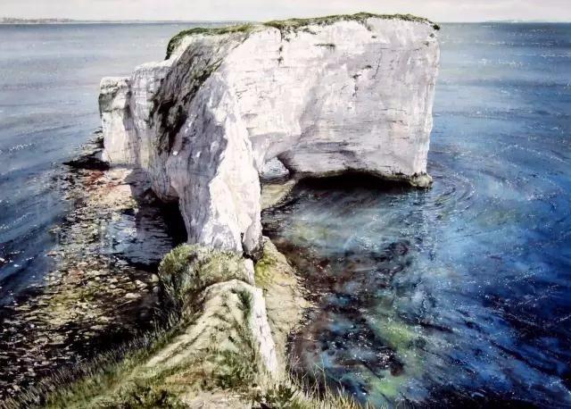 风景画中最难一课, 水彩画是如何画水的.
