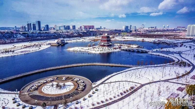 榆林初冬第一场雪,美爆整个朋友圈!年级初中焦点透视七美术探索图片