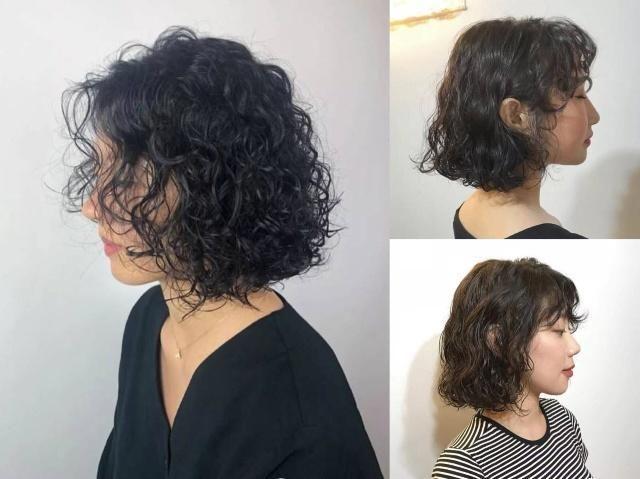 韩式中长发烫发发型图片二图片