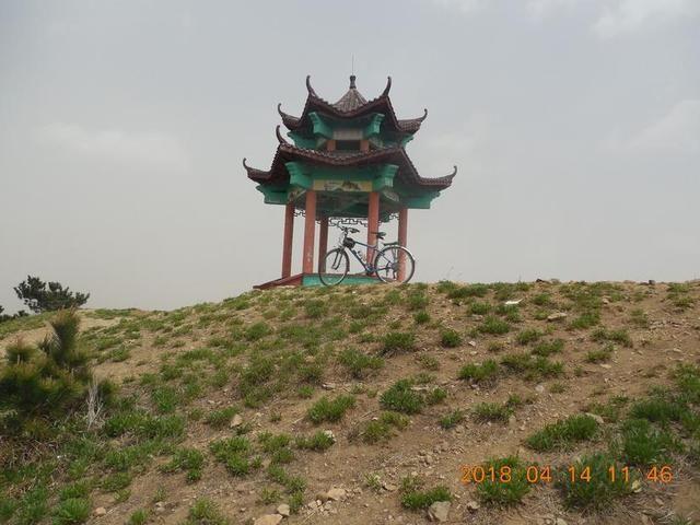骑行徐福泊船山风景区