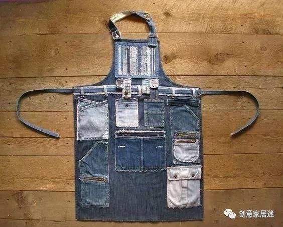 旧牛仔裤千万别扔,剪两刀缝一缝,抱枕,坐垫,地毯都不用买了!