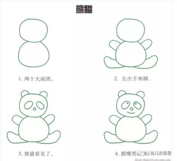 【节日特献】幼儿园简笔画教程大全,果断为孩子收藏!