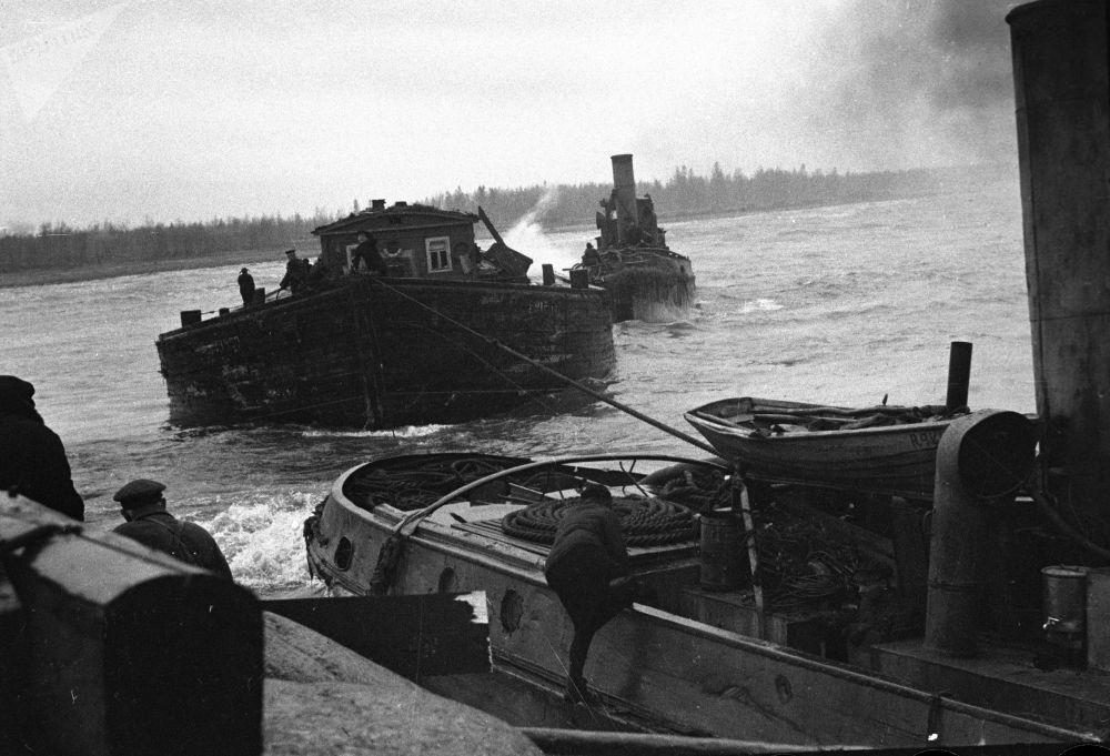 二战德军围困时期拯救列宁格勒的