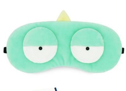 十二星座可爱的卡通眼罩,牛气的天蝎座,呆萌的双鱼座
