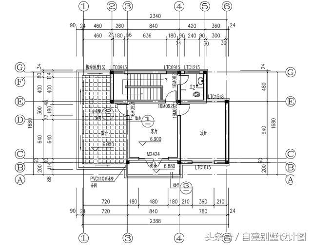 楼房养猪设计图