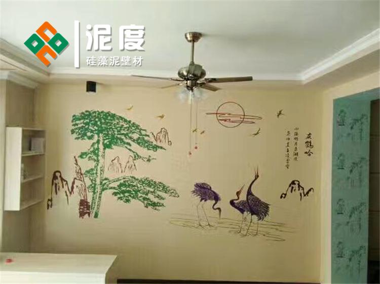 20款硅藻泥背景墙装修效果图案,别有风味