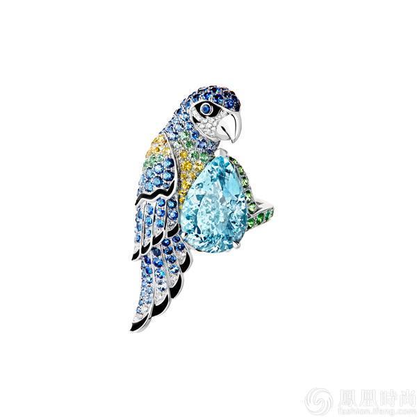 collcetion动物系列萃选至臻宝石,独特色彩组合构成夺目迷人的渐变