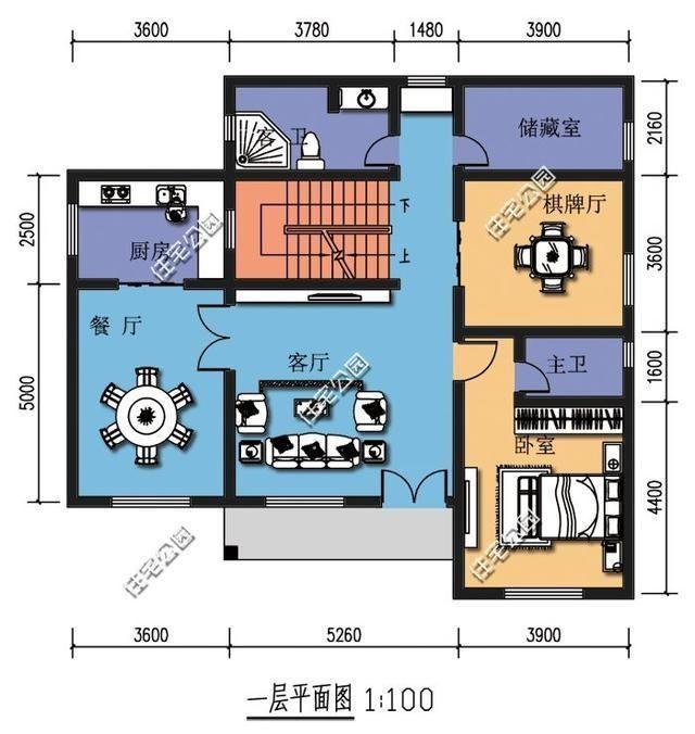 6套徽派风格农村别墅,农村自建房就该这样,含平面图