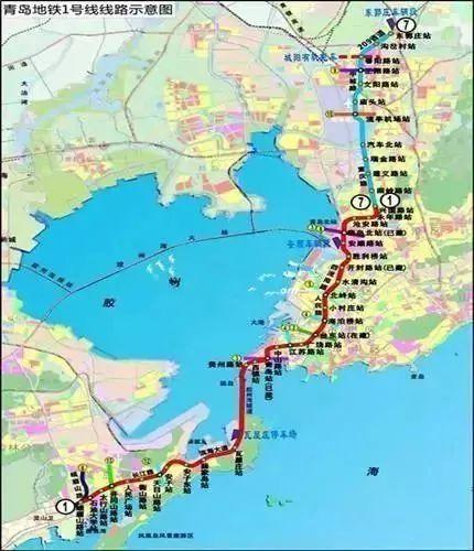 4公里,共设车站18座,其中高架站1座,地下站17座,线路起自胶济客专胶州图片