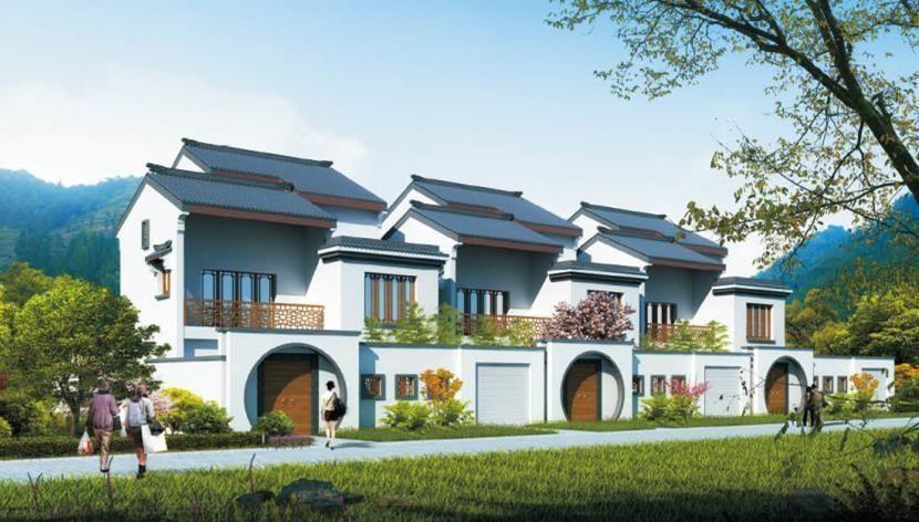 20万带庭院的农村房屋设计图,5套方案,2款带火炕含预算