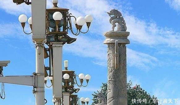 为何北京天安门前伫立两根石柱?是何用意大家知道吗?图片