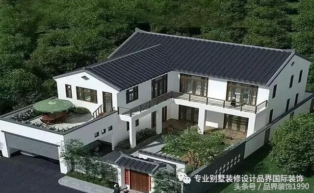 民宿,乡村别墅设计建造图纸 品界国际装饰 专业从事别墅设计施工