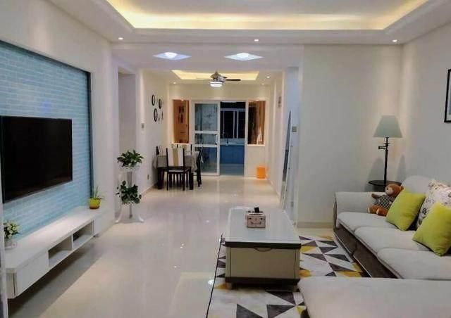 88平新房,为了省钱简单装修,家具搭配也可以很漂亮!
