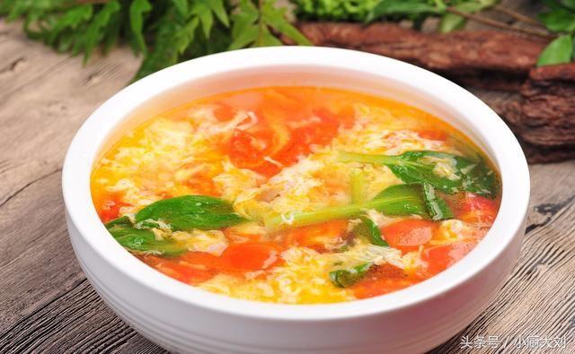 番茄蛋汤_西红柿鸡蛋汤的灵魂做法,教你做出最漂亮的蛋花,学会就显摆一下