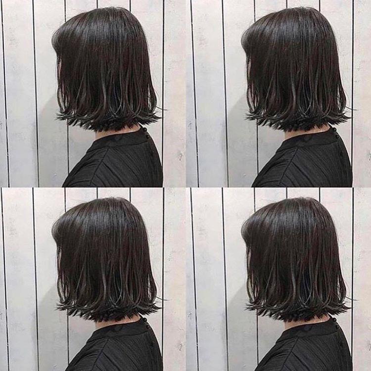 不长不短,这样做的发型有气质又有型图片
