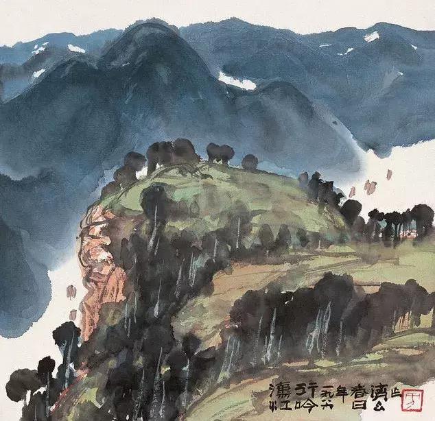 壁纸 风景 国画 634_614