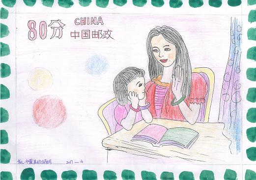 南阳这个母亲节:画出你心中最美的漫画大全妈妈小学图片