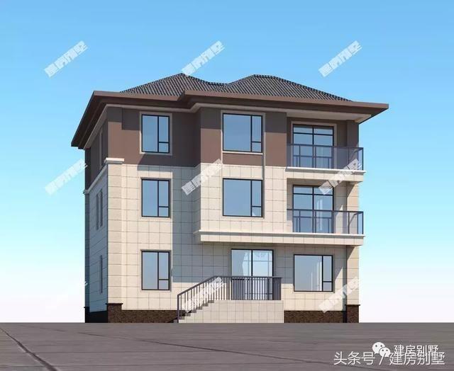 8栋面宽11.4米的农村别墅,每一款都是设计师的得意之作