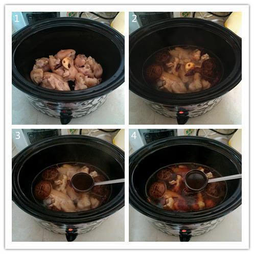 正宗隆江卤猪脚的做法,香喷喷还是原来的味道