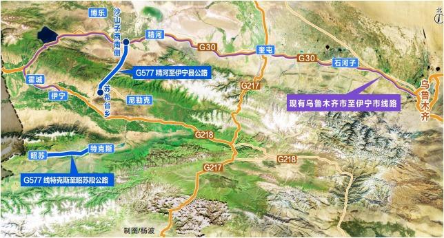 伊宁城区规划图