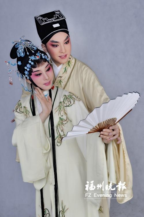 闽剧大戏首次到塞北古城 获赞《双蝶扇》有诗画品质图片