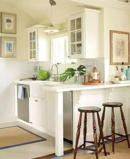 墙面,洗衣机,冰箱,书桌等秒变厨房,厨房装修效果图