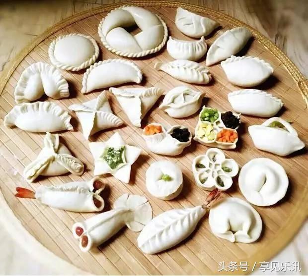 各种花式包饺子方法,春节绝对用得上!