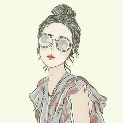 头像头像|2018动漫卡通女生可爱a头像手绘图片女生可爱外号图片