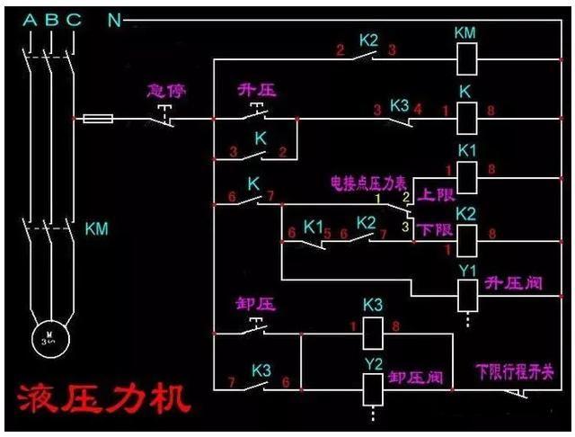 (分别发了实物接线图和电路原理图) 电路图 点点电工—首家充电桩运维
