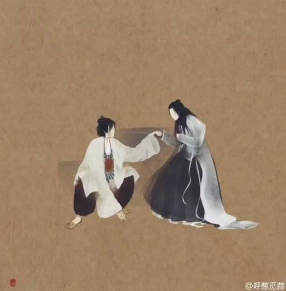 """她画的""""无脸""""紫霞仙子,一样很惊艳"""