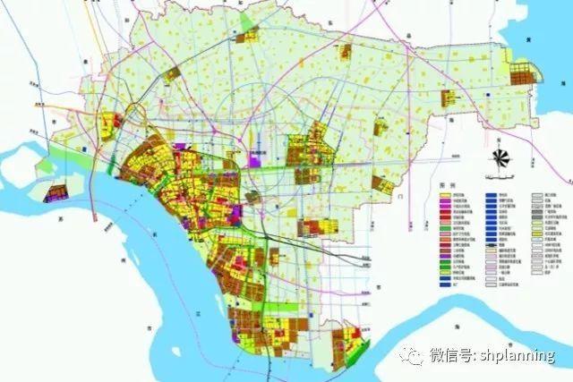 2011版南通市总体规划用地图