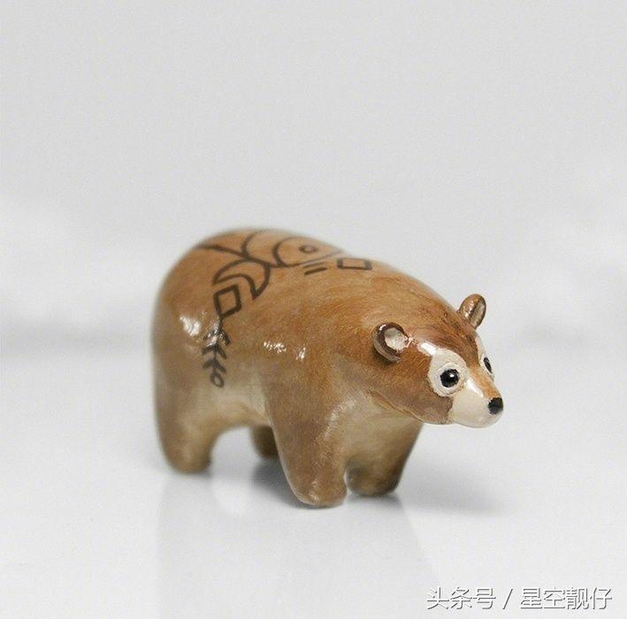 超可爱的黏土小动物唯美手工设计