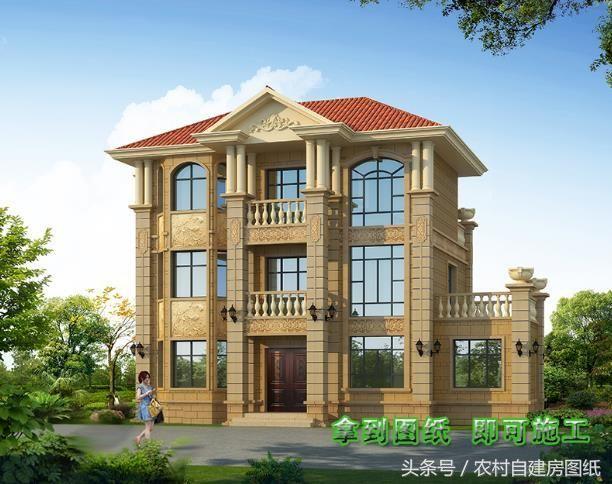 6款别墅柴火设计图,带v别墅别墅有不用灶,开春建房农村图片厨房的上海最好图片