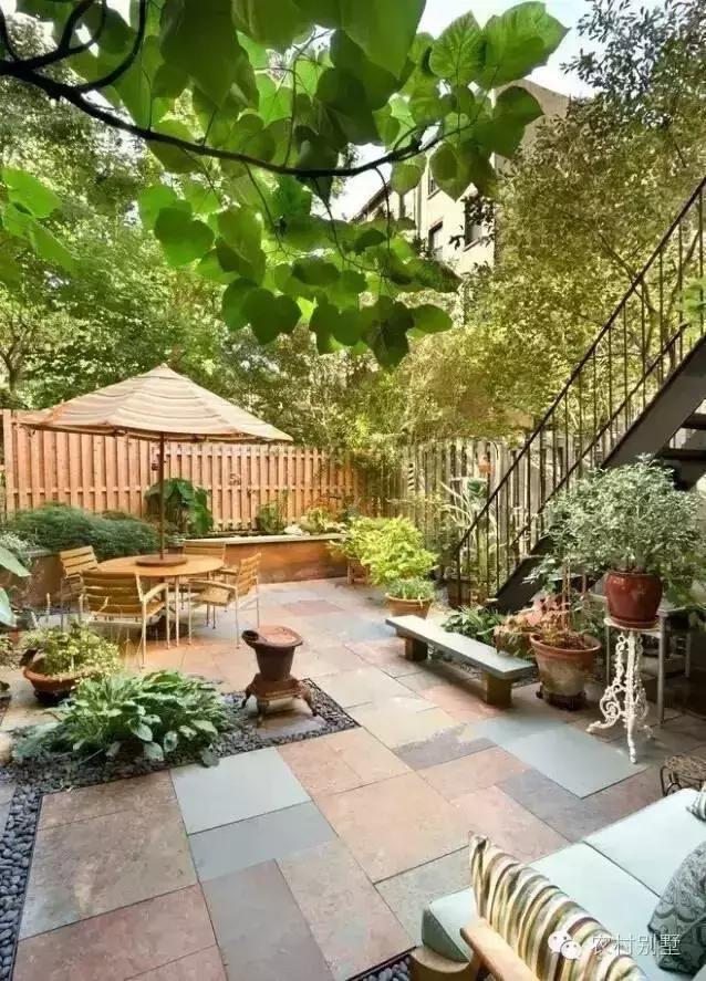 农村盖房的庭院花园设计方案,每个人都可以是园林景观