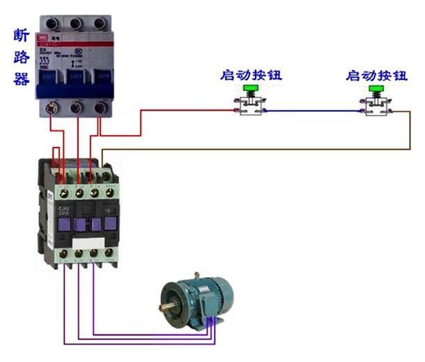 以下提供一些电动机控制电路图,仅供参考: 1,顺逆转控制电路图