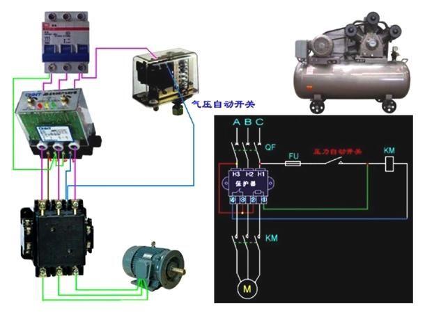 电工基础--电动机控制电路图-北京时间