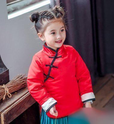 2018新春小女孩发型发型!2015烫发女喜气最新