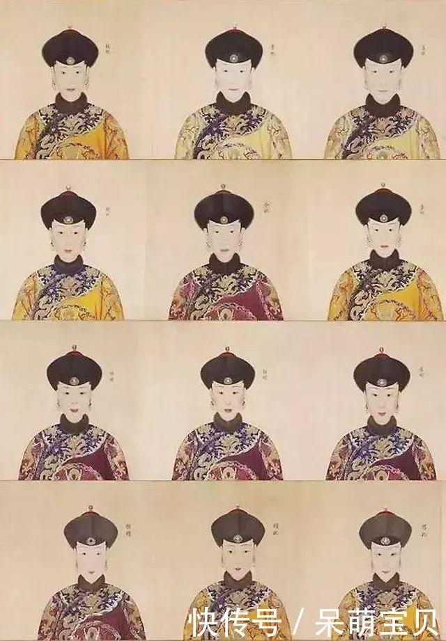 她是清朝最美妃子,生前真实画像成国宝,死后头骨复原图惊艳世人图片