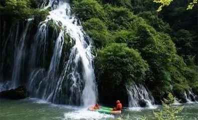 壁纸 风景 旅游 瀑布 山水 桌面 395_240