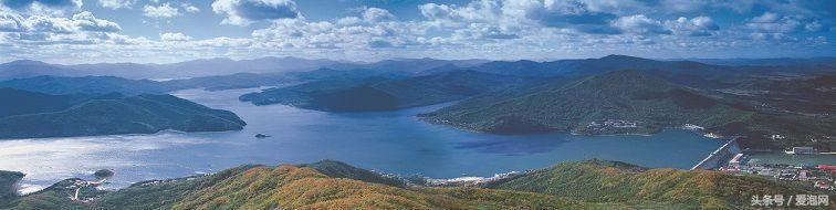 中国避暑第一湖吉林松花湖,可与千岛湖相媲美