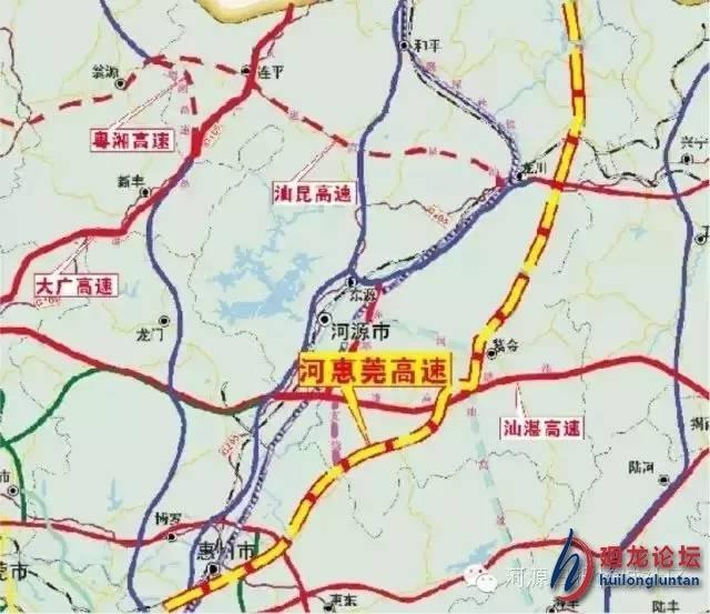 龙川鹤市镇地图