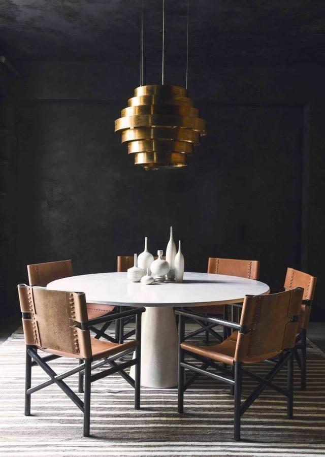 收下这些圆桌设计,小户型最合适!
