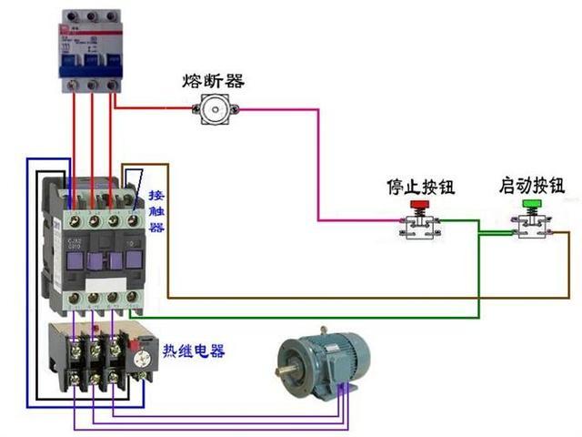 电工必备|断路器电路图大全 电机接线不求人 非常值得