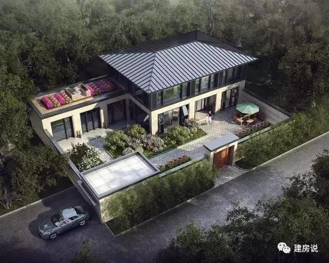 农村别墅千千万,中式四合院永远是最美的房子!这36栋永不过时