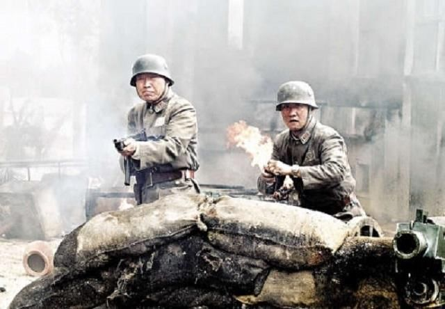 一只由流氓土匪组成的军队,抗日战争时期,面对日本人死战不退图片